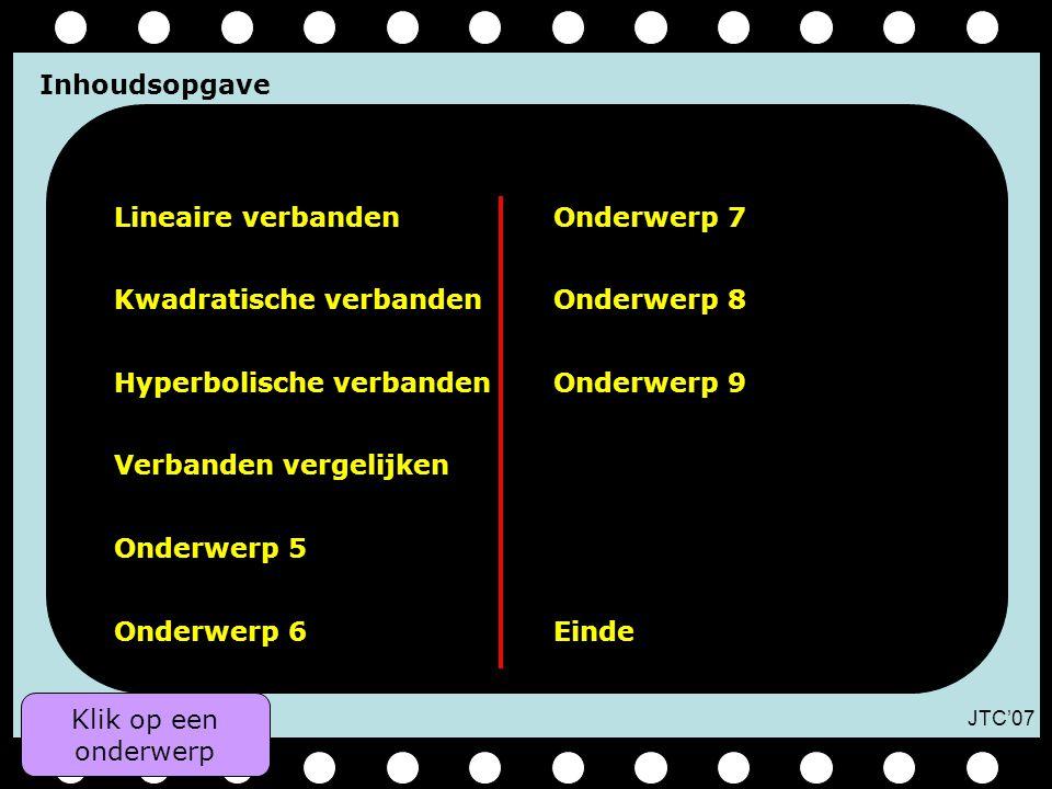 Kwadratische verbanden Onderwerp 8