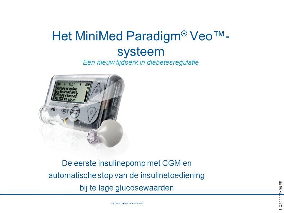 Het MiniMed Paradigm® Veo™-systeem Een nieuw tijdperk in diabetesregulatie