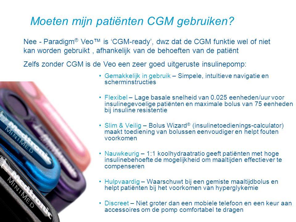 Moeten mijn patiënten CGM gebruiken