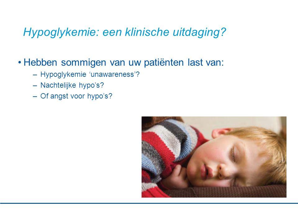 Hypoglykemie: een klinische uitdaging