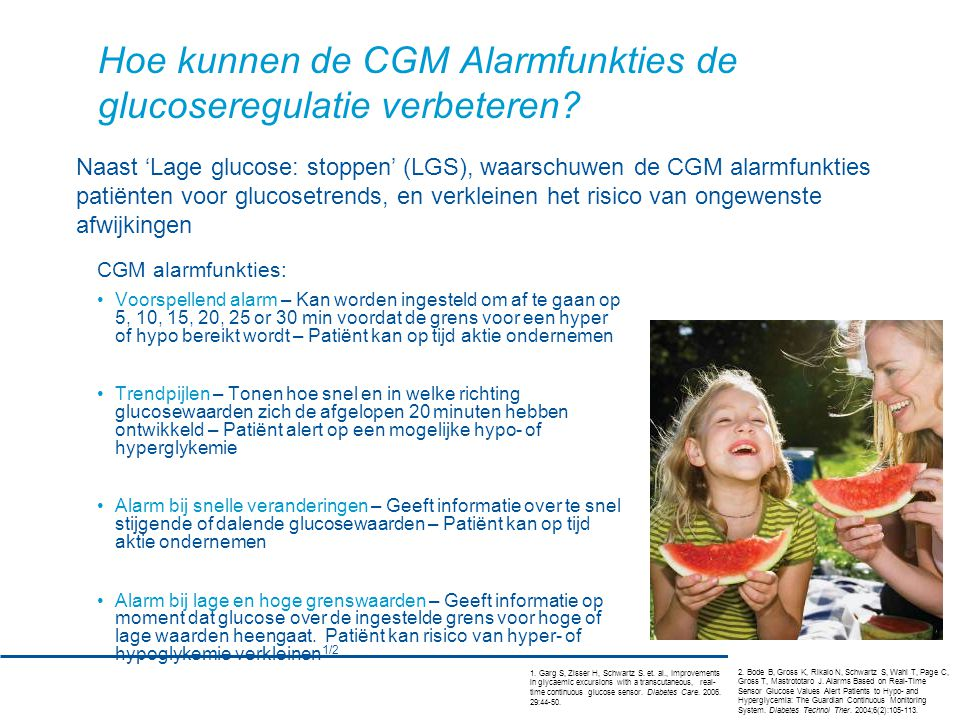 Hoe kunnen de CGM Alarmfunkties de glucoseregulatie verbeteren