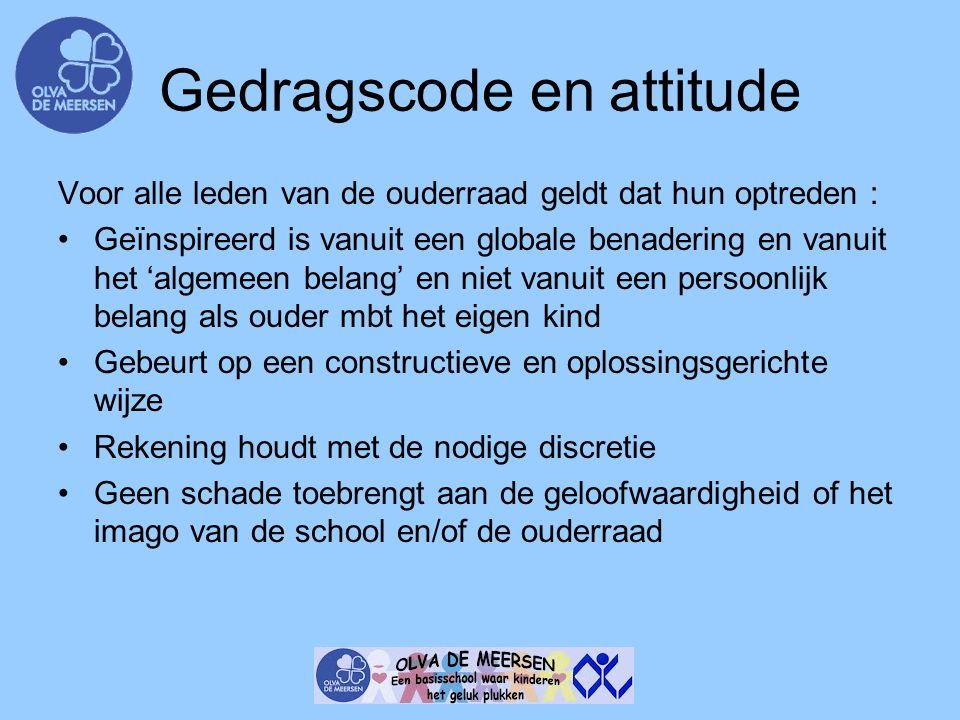 Gedragscode en attitude