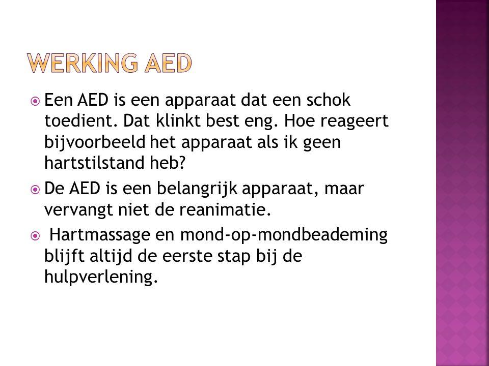 Werking AED