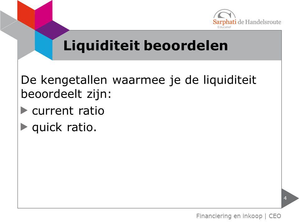 Liquiditeit beoordelen