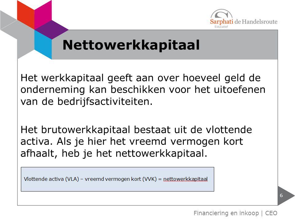 Nettowerkkapitaal