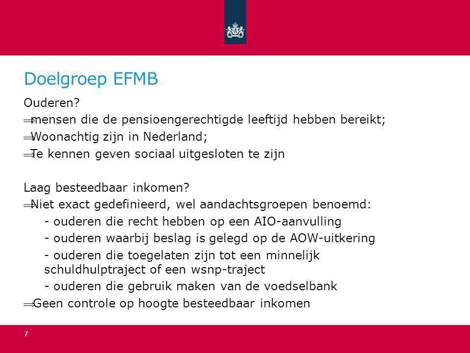Doelgroep EFMB Ouderen
