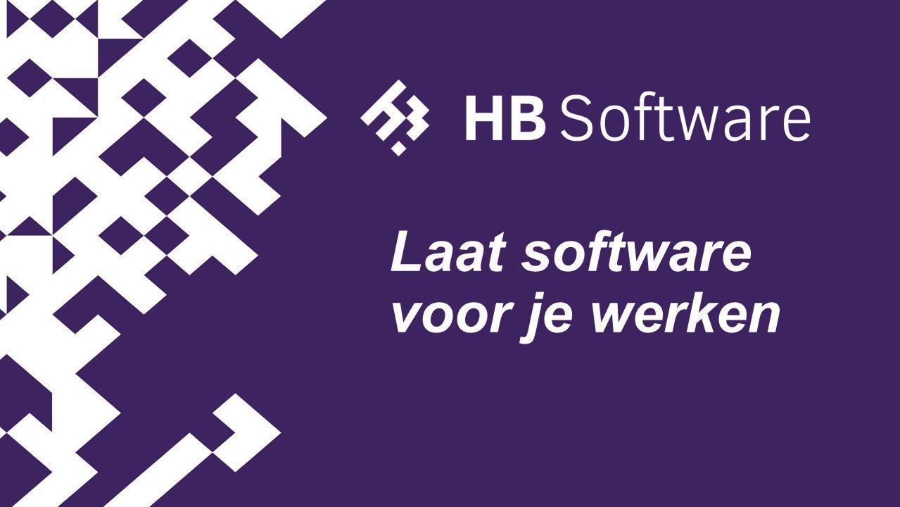 Laat software voor je werken