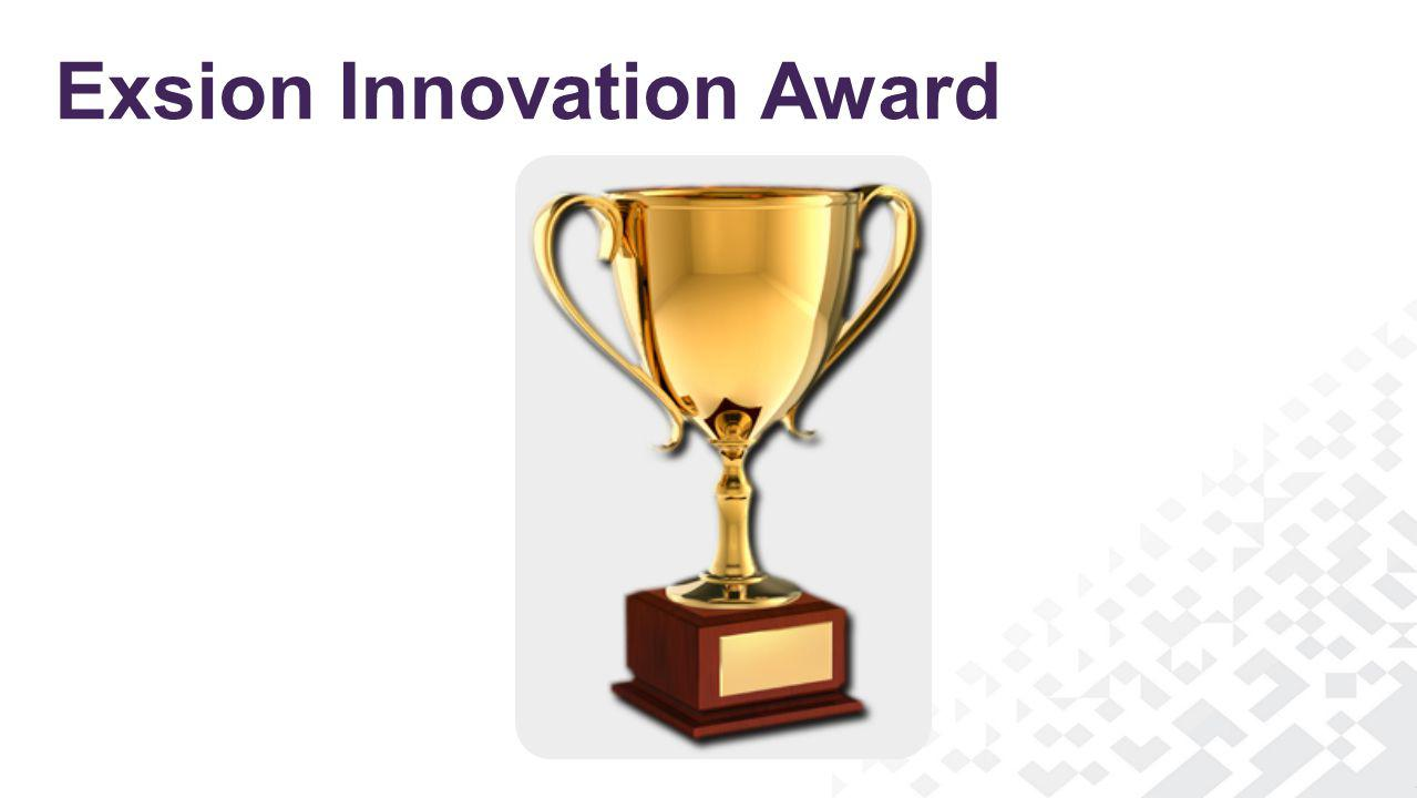 Exsion Innovation Award