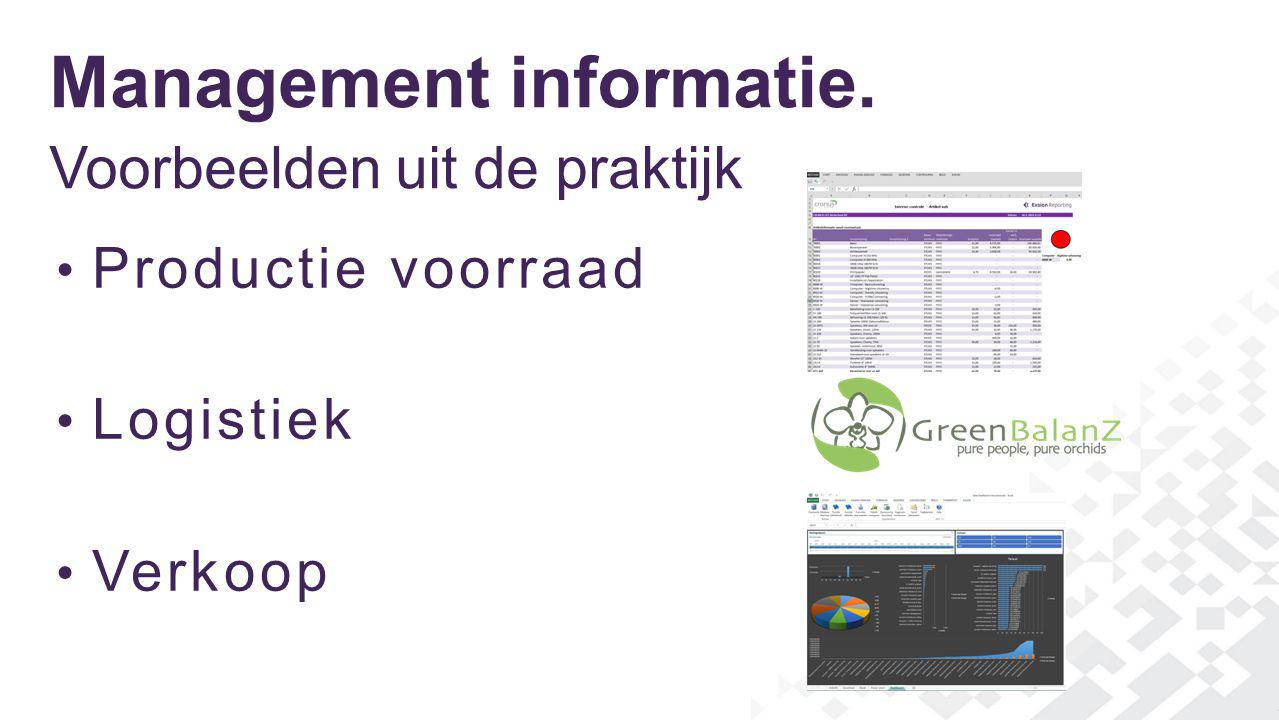 Management informatie.