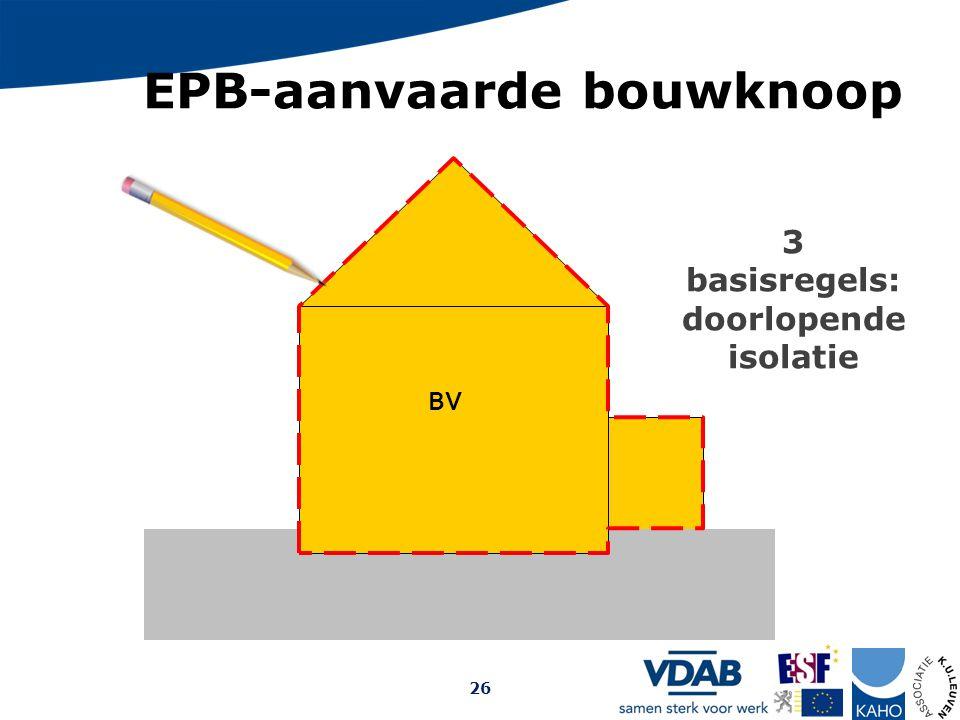 EPB-aanvaarde bouwknoop