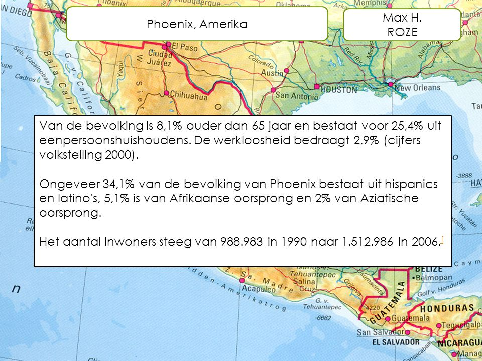 Phoenix, Amerika Max H. ROZE.