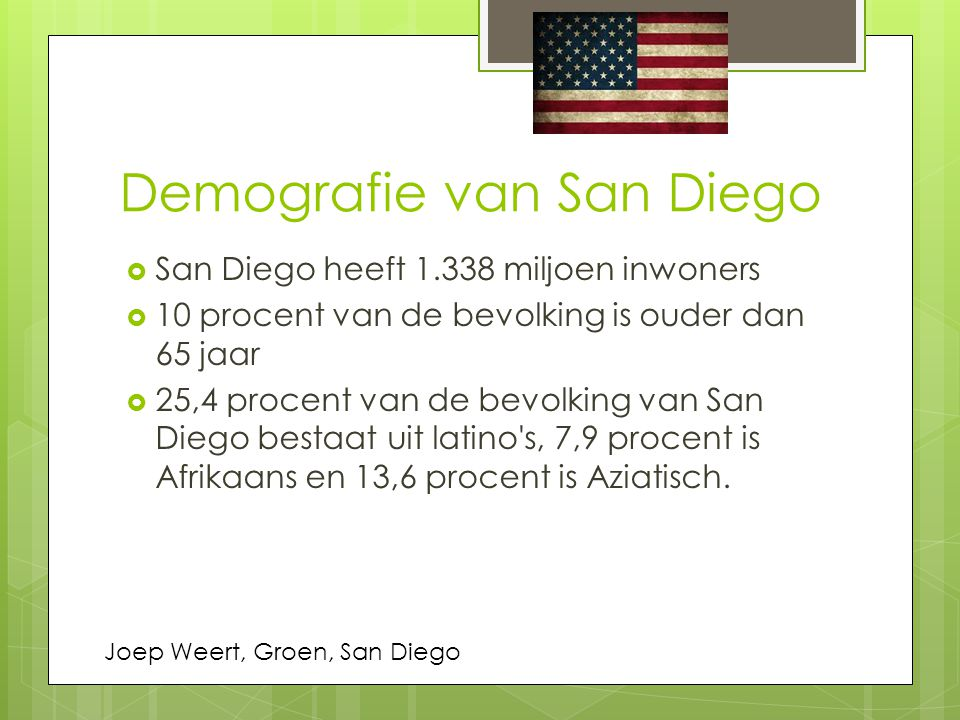 Demografie van San Diego