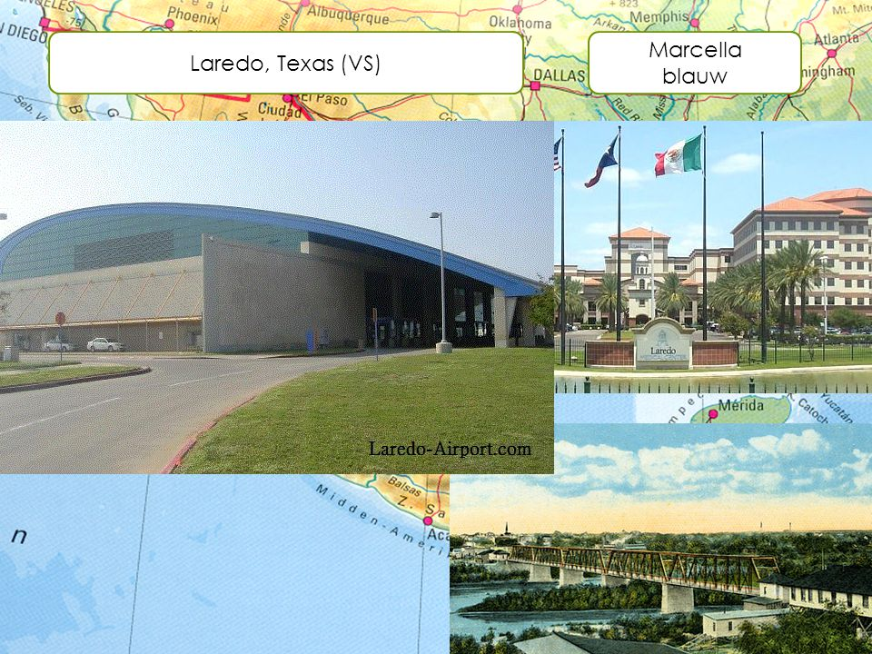 Laredo, Texas (VS) Marcella blauw