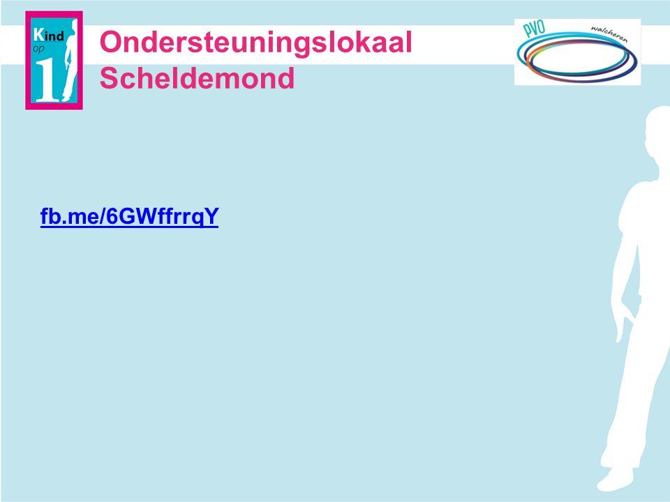 Ondersteuningslokaal Scheldemond