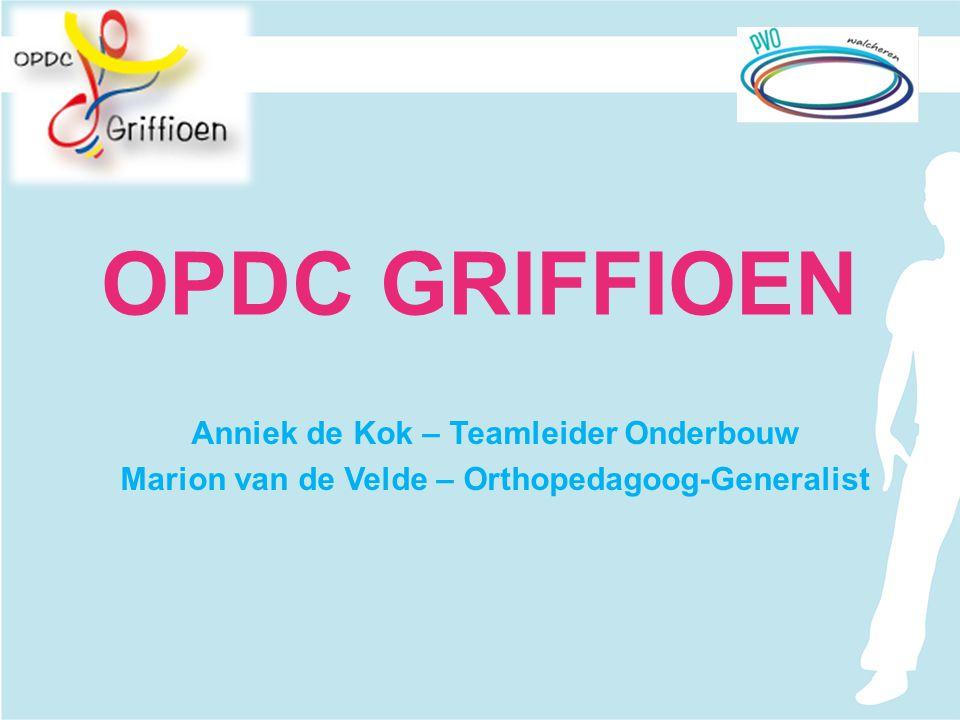 OPDC GRIFFIOEN Anniek de Kok – Teamleider Onderbouw