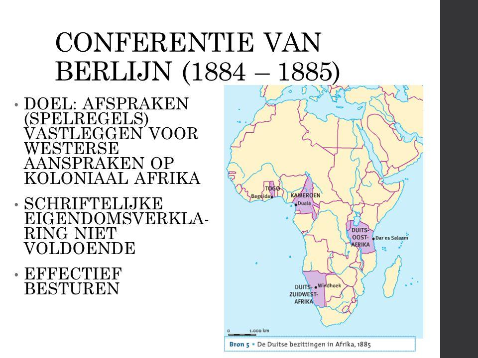 CONFERENTIE VAN BERLIJN (1884 – 1885)