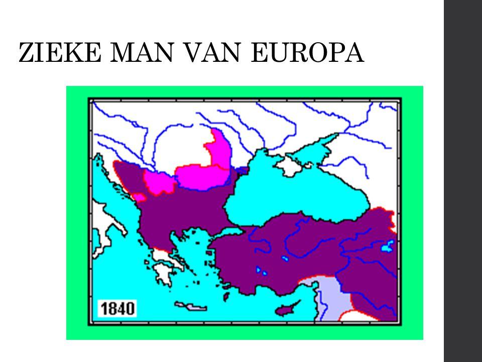 ZIEKE MAN VAN EUROPA