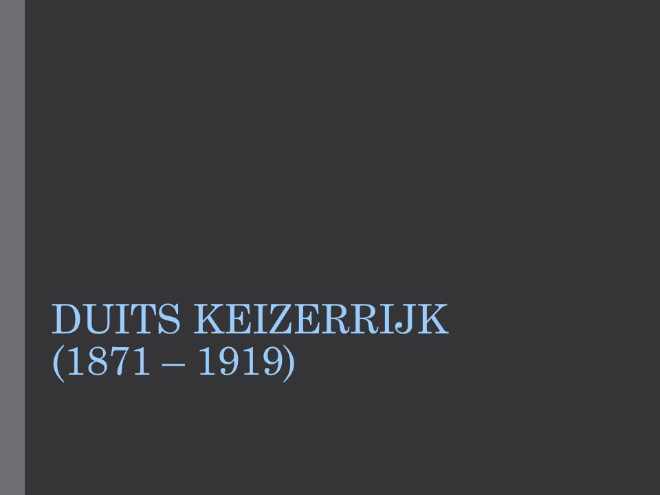 DUITS KEIZERRIJK (1871 – 1919)