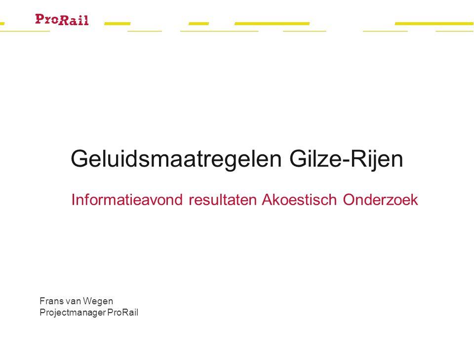Geluidsmaatregelen Gilze-Rijen