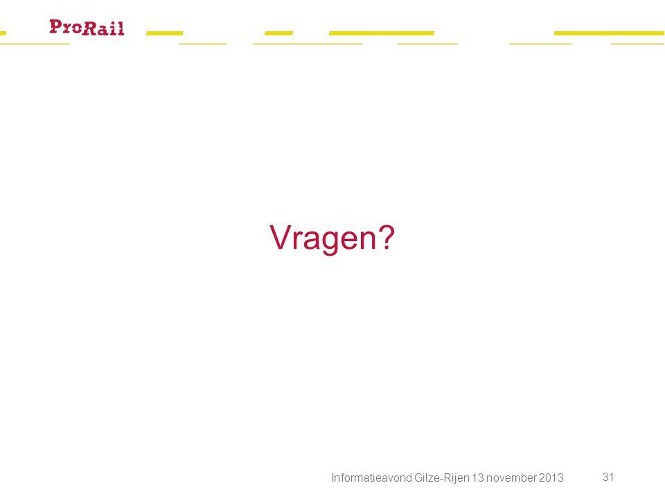 Vragen Informatieavond Gilze-Rijen 13 november 2013