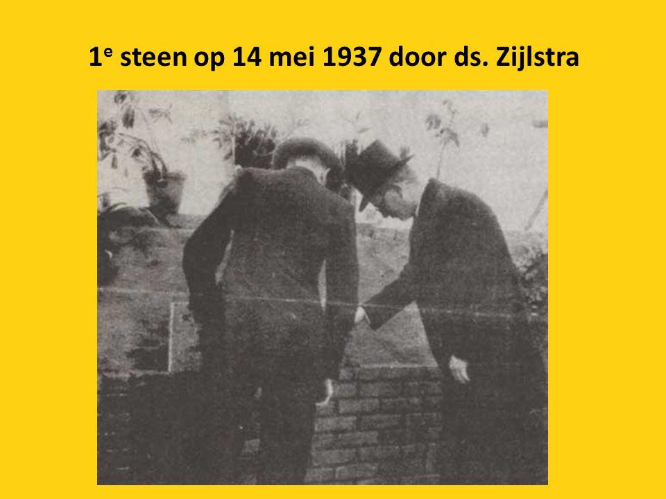 1e steen op 14 mei 1937 door ds. Zijlstra