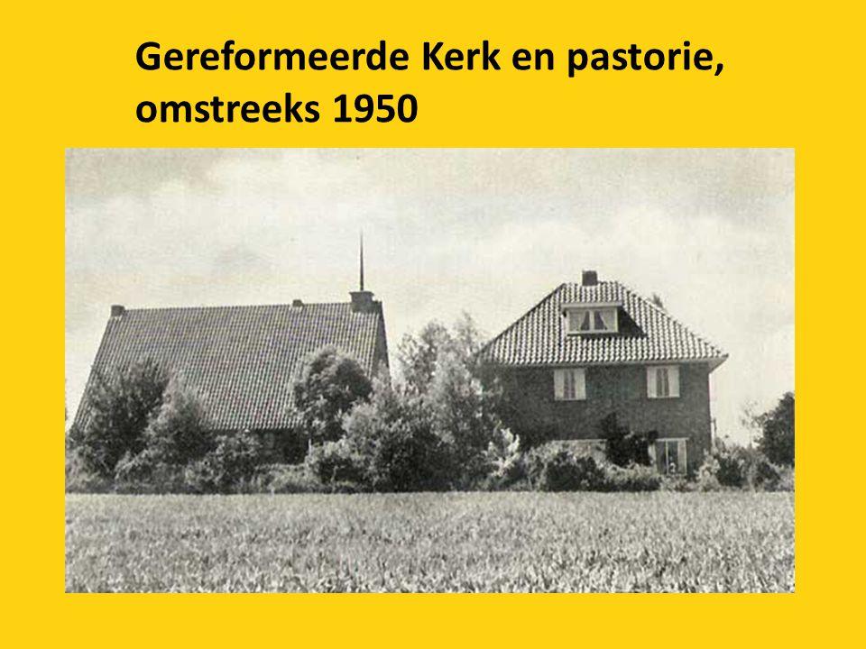 Gereformeerde Kerk en pastorie,