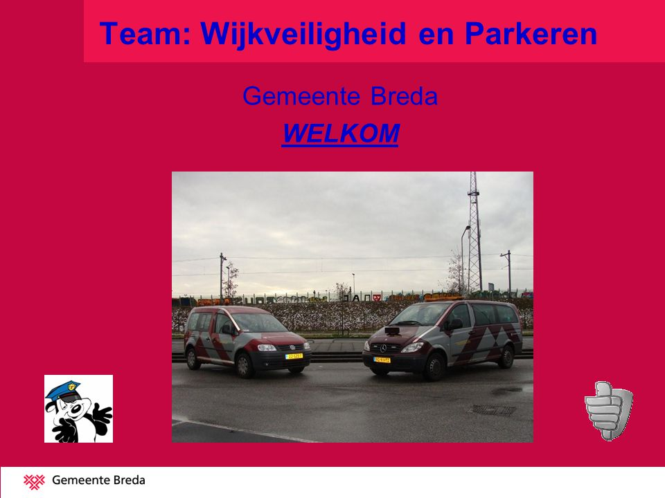 Team: Wijkveiligheid en Parkeren