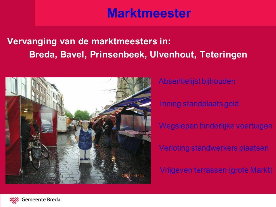 Breda, Bavel, Prinsenbeek, Ulvenhout, Teteringen