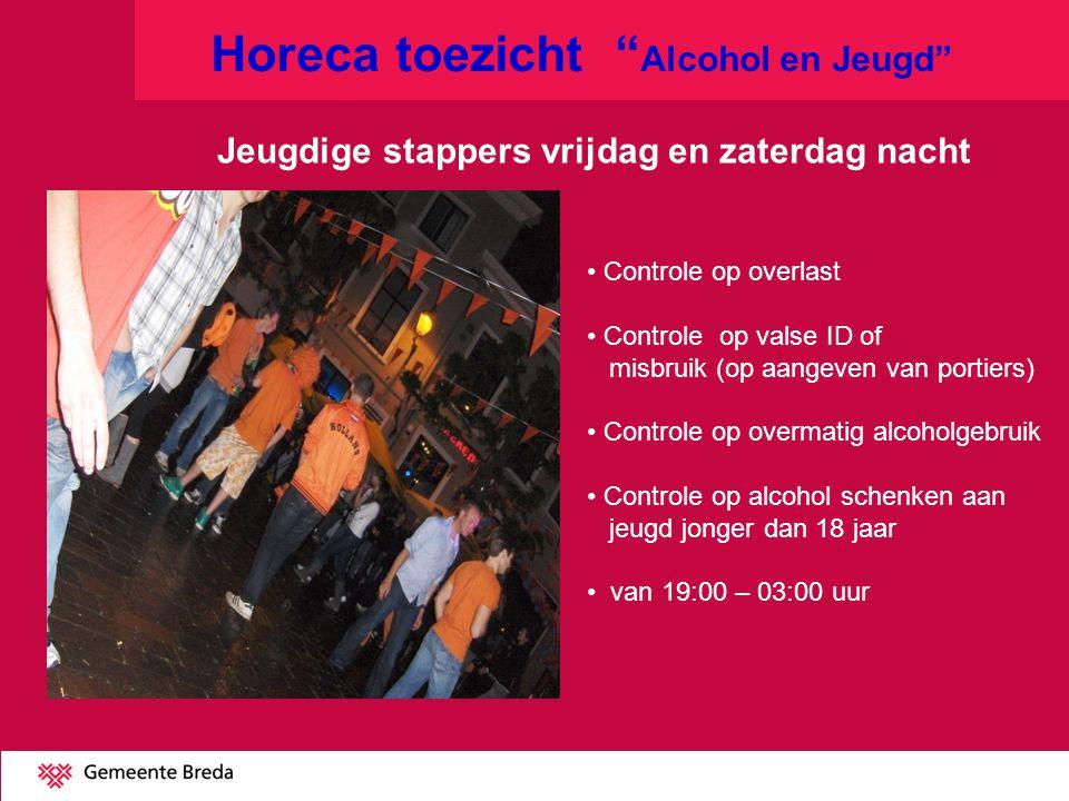 Horeca toezicht Alcohol en Jeugd