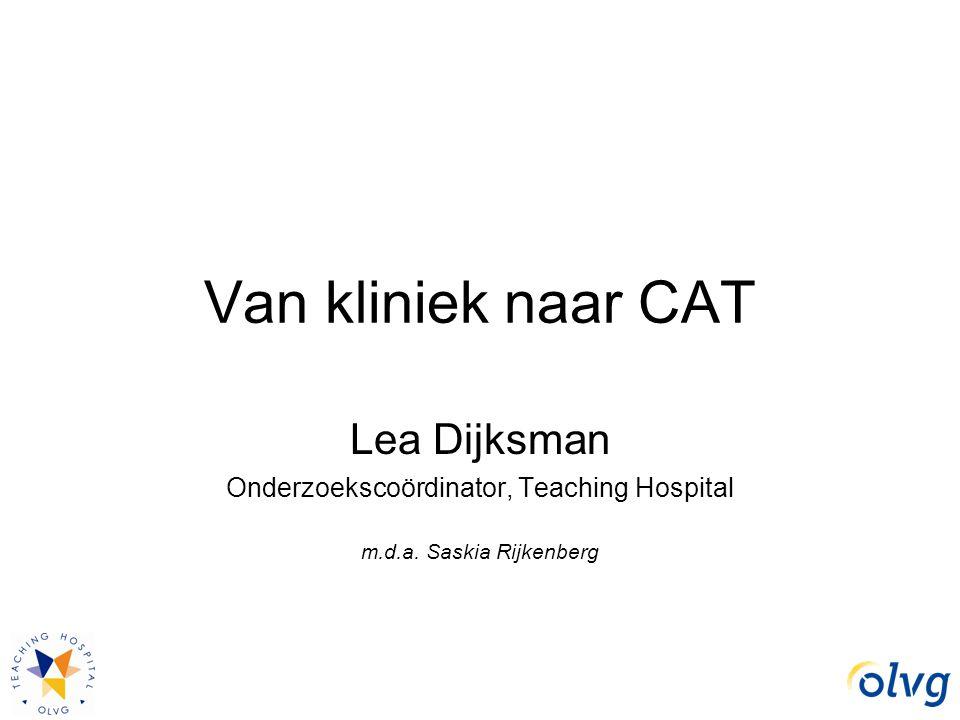 Onderzoekscoördinator, Teaching Hospital