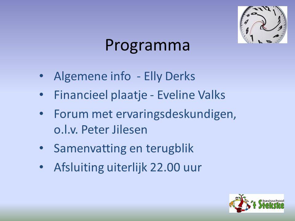 Programma Algemene info - Elly Derks