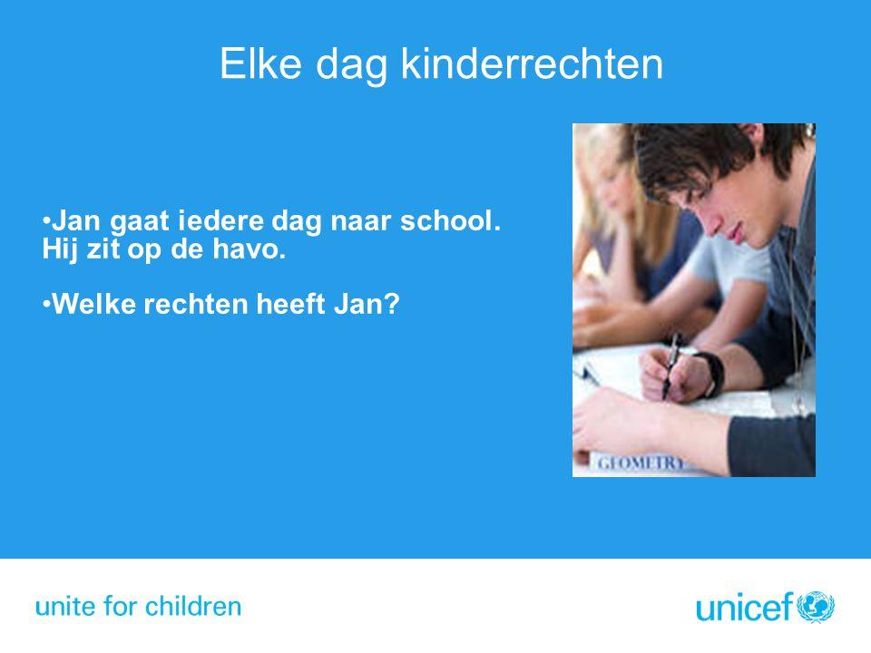 Elke dag kinderrechten