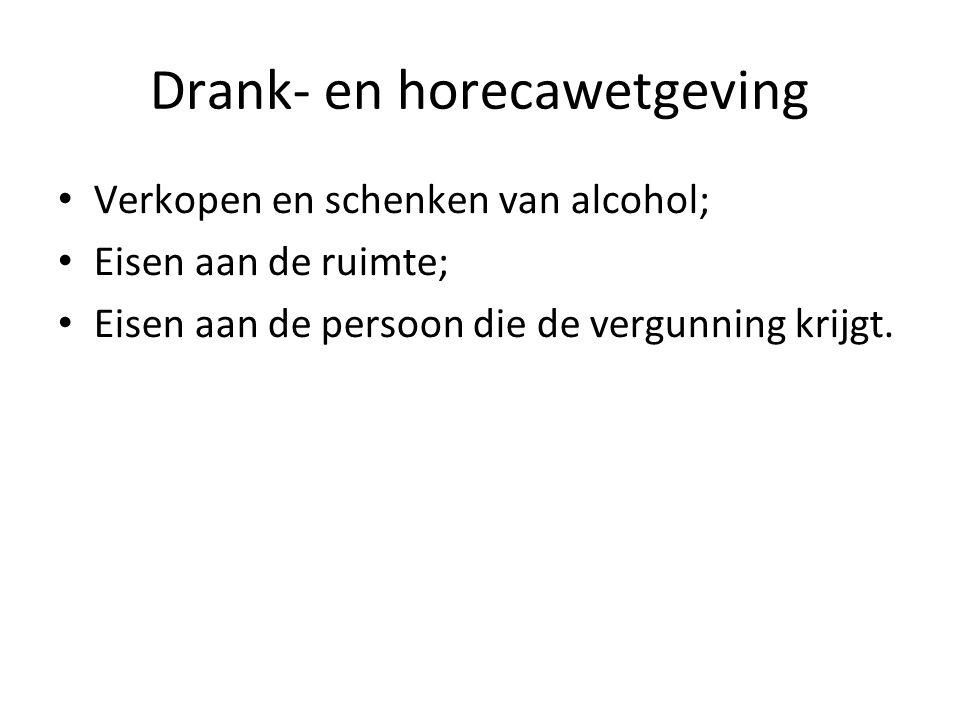 Drank- en horecawetgeving