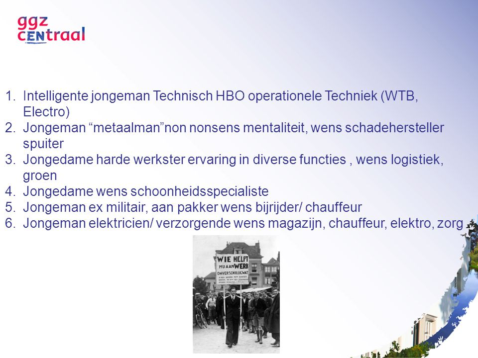 Intelligente jongeman Technisch HBO operationele Techniek (WTB, Electro)