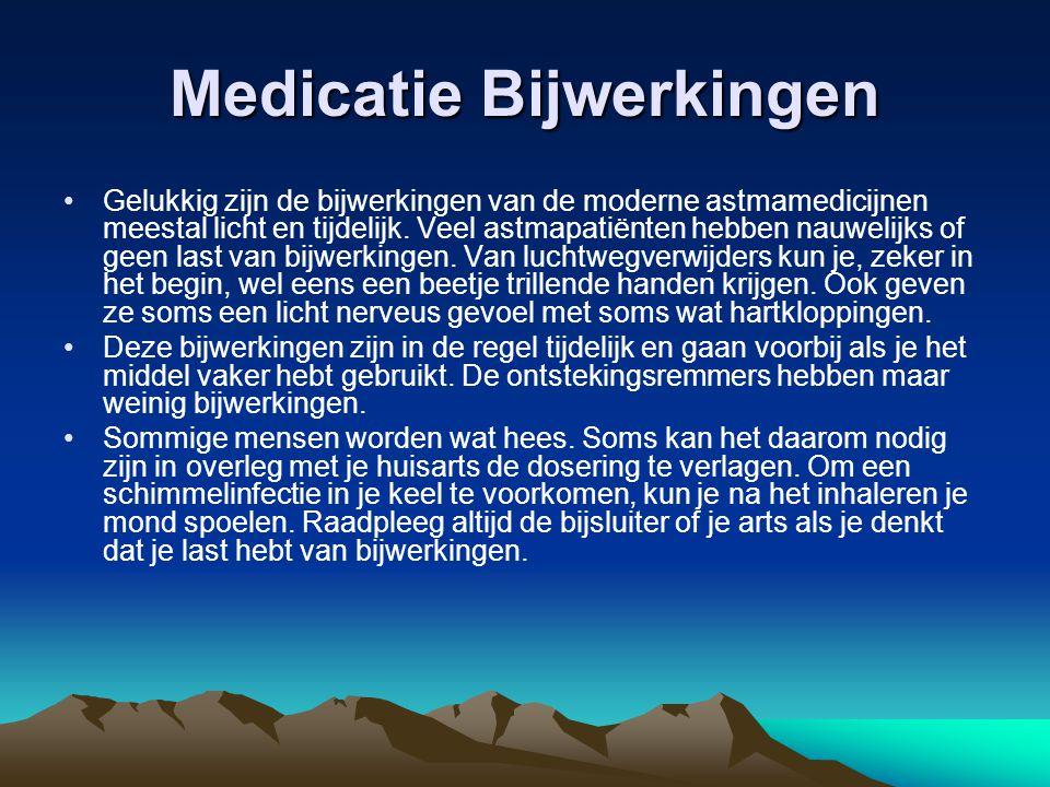 Medicatie Bijwerkingen