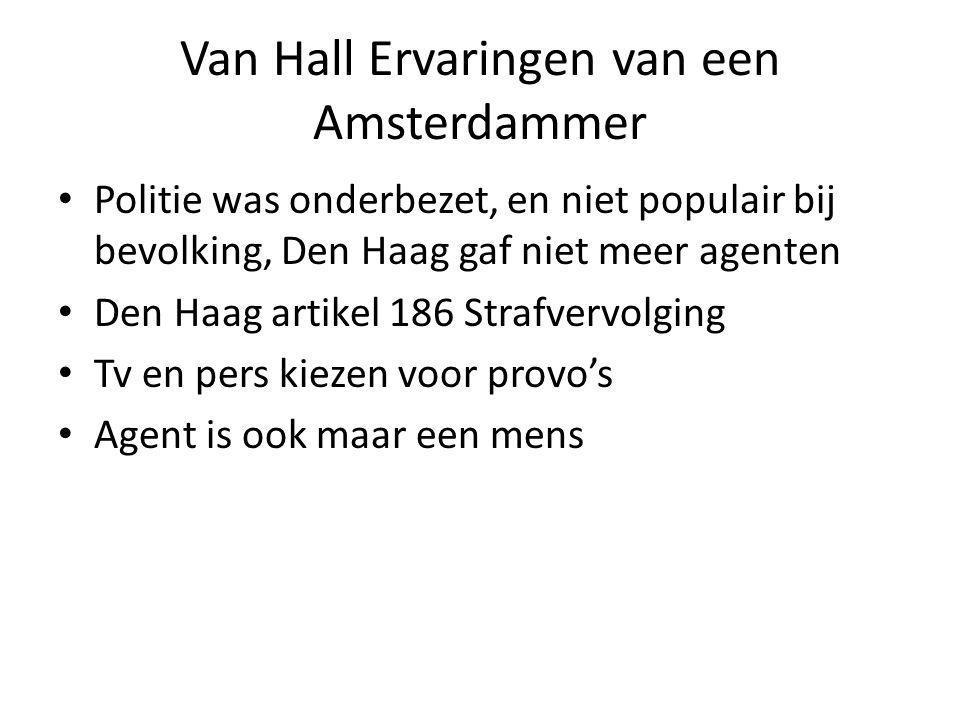 Van Hall Ervaringen van een Amsterdammer