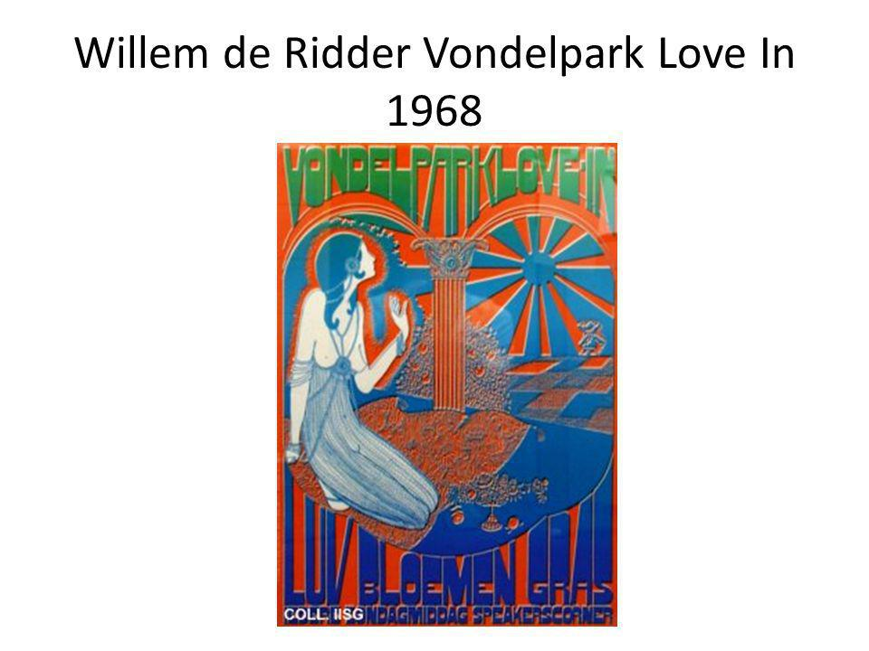 Willem de Ridder Vondelpark Love In 1968
