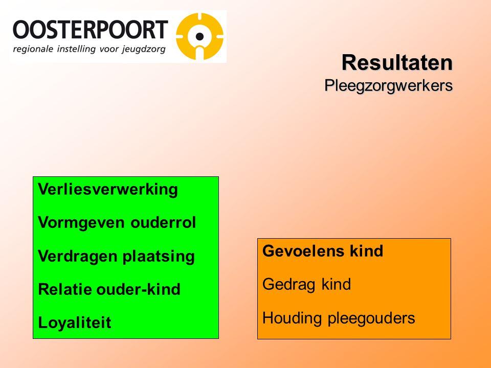 Resultaten Pleegzorgwerkers