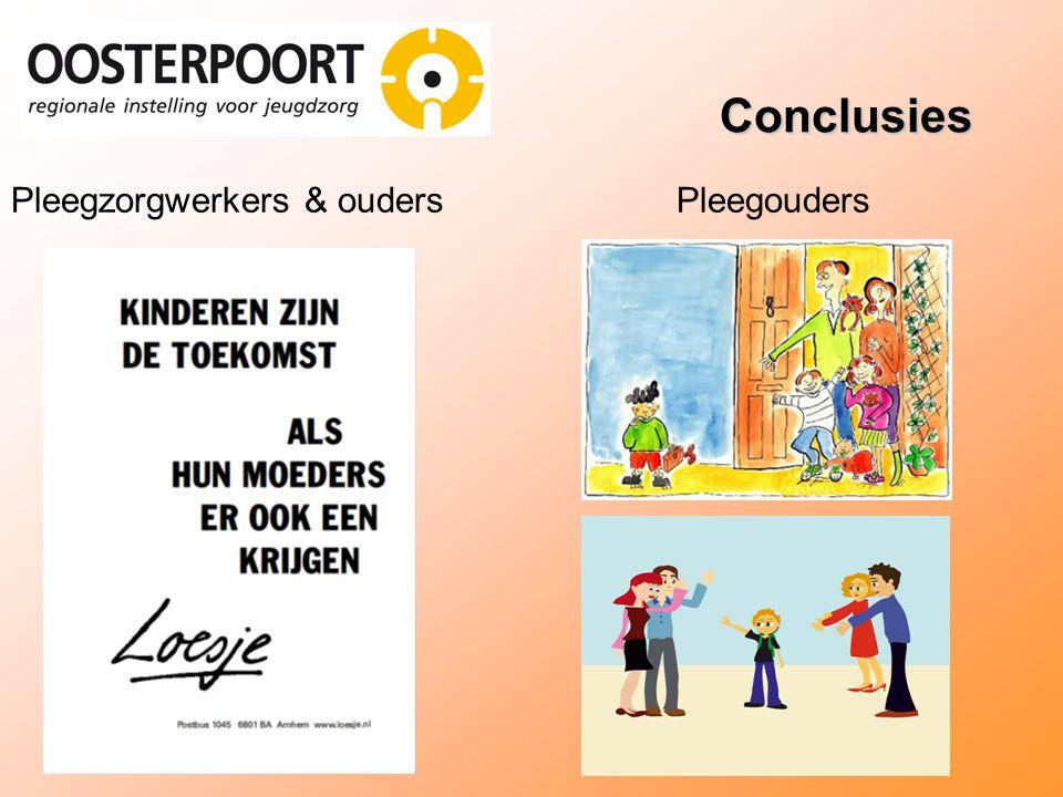 Conclusies Pleegzorgwerkers & ouders Pleegouders 8-11-2007