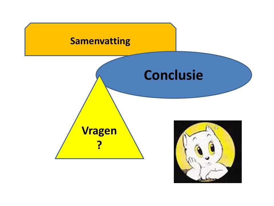 Samenvatting Conclusie Vragen