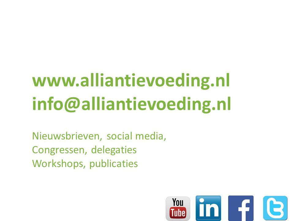 www.alliantievoeding.nl info@alliantievoeding.nl