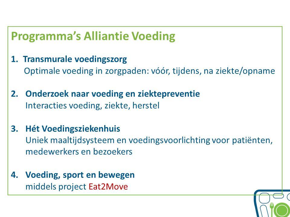 Programma's Alliantie Voeding
