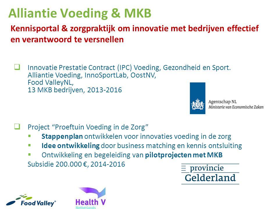 Alliantie Voeding & MKB