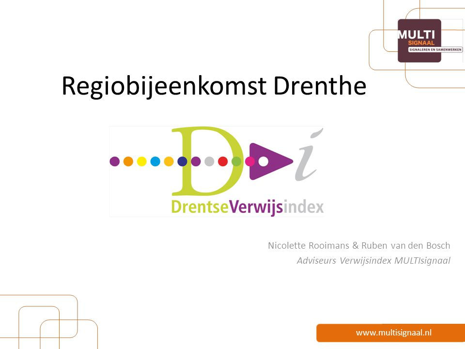 Regiobijeenkomst Drenthe