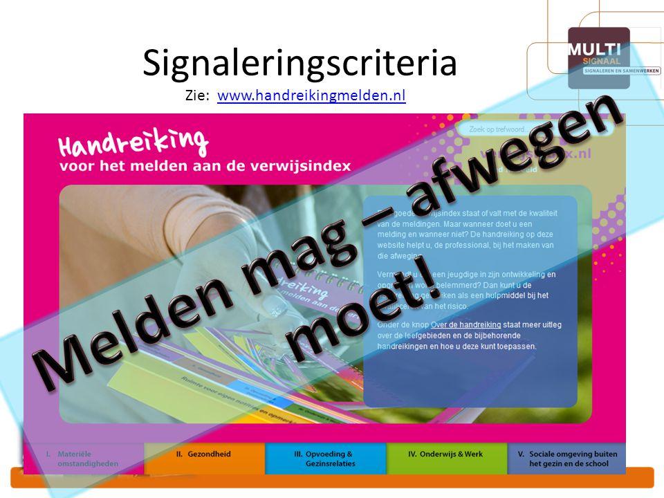 Signaleringscriteria