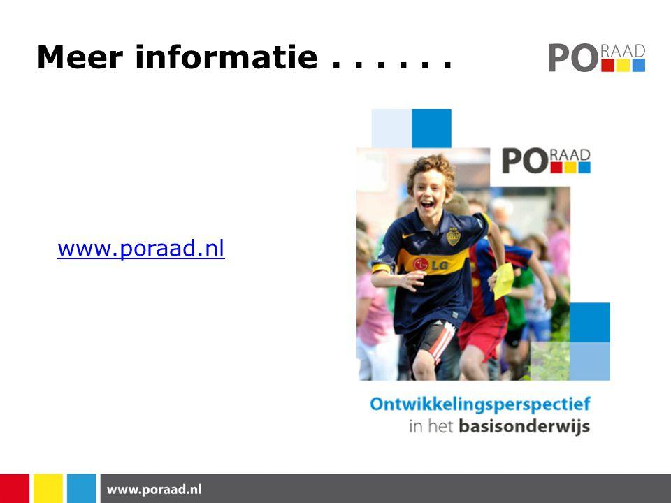 Meer informatie . . . . . . www.poraad.nl