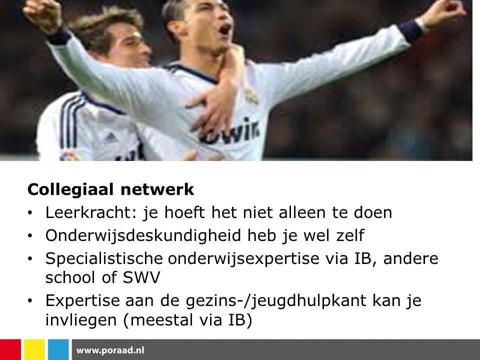 Collegiaal netwerk Leerkracht: je hoeft het niet alleen te doen. Onderwijsdeskundigheid heb je wel zelf.