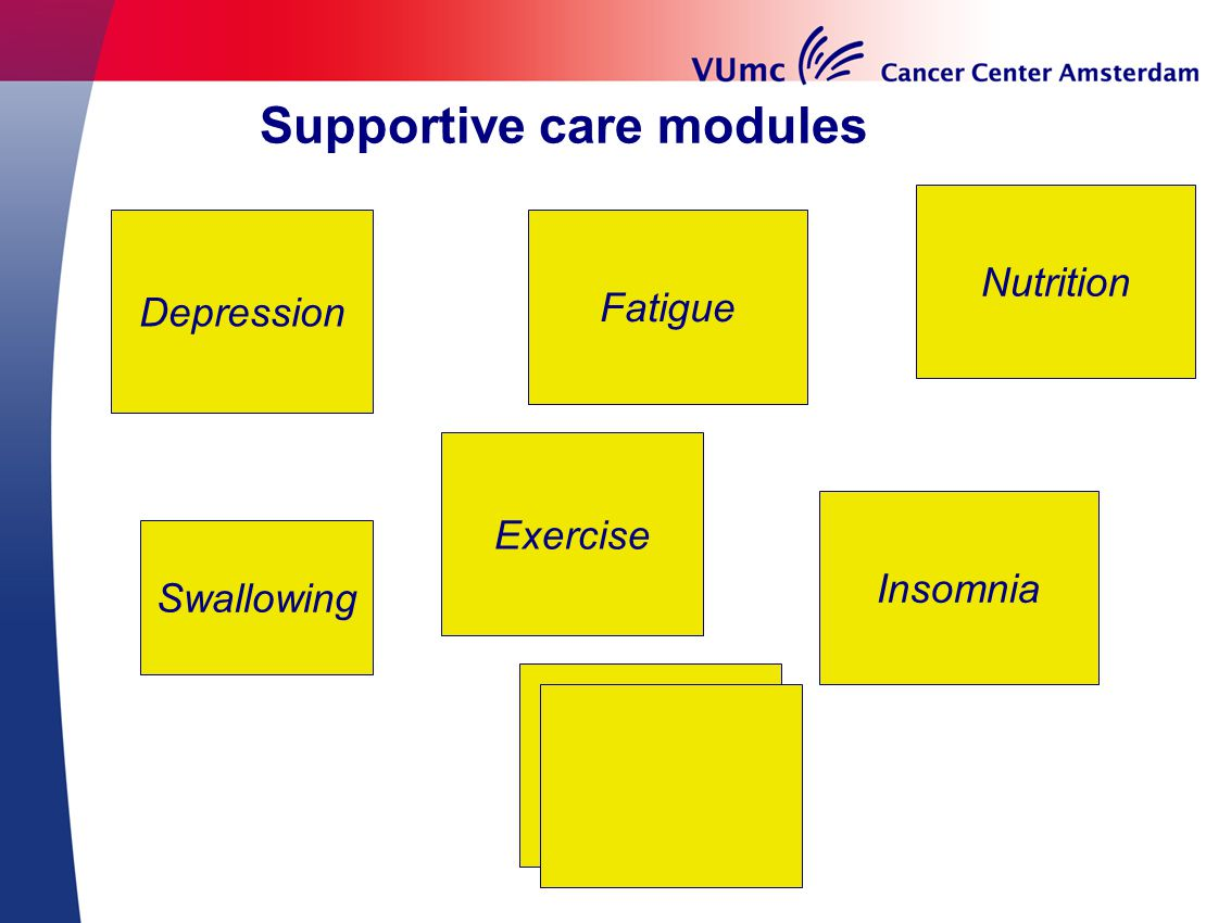 Supportive care modules