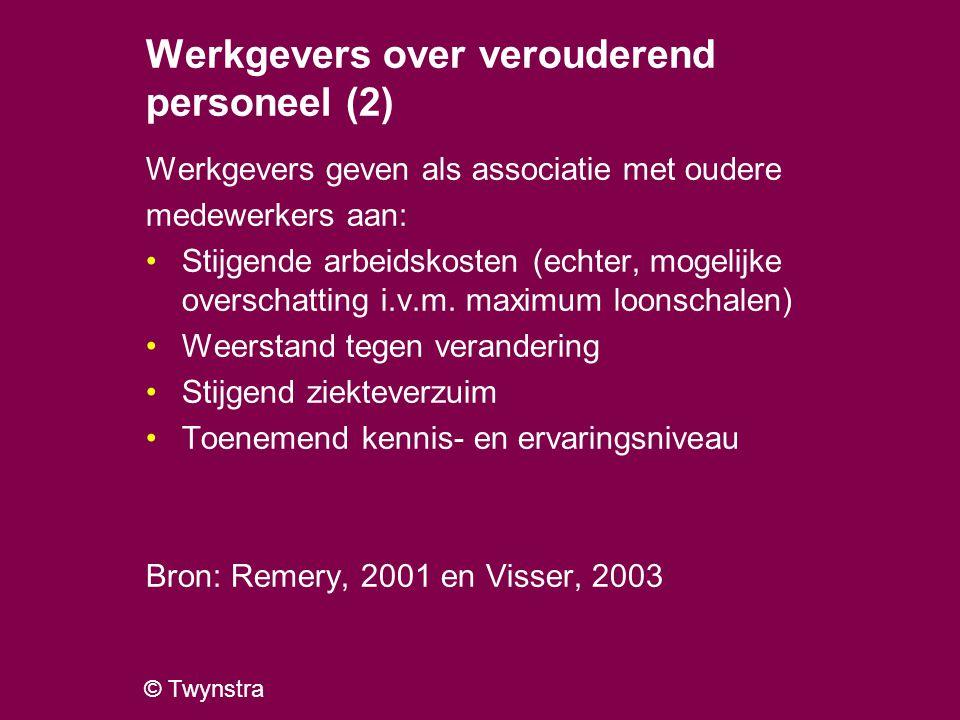 Werkgevers over verouderend personeel (2)