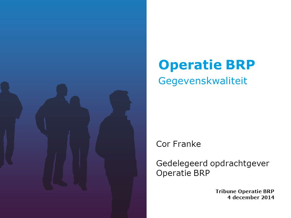 Tribune Operatie BRP 4 december 2014